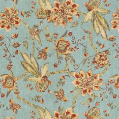 Home Decor Fabric - Ellen Degeneres - Hollyridge - Aqua