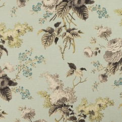 Home Decor Fabric - Waverly - Emma's Garden Mineral