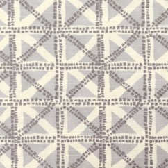 Home Decor Fabric - Waverly - Squared away Grey