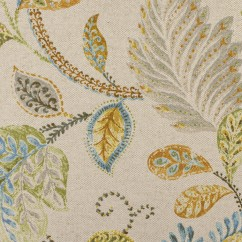 Home Decor Fabric - P.Kaufmann - Autumn Leaves - Beige