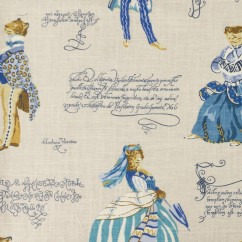 Home Decor Fabric - P.Kaufmann - Belle of the ball - Blue