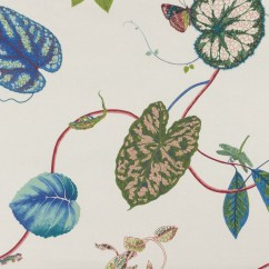 Home Decor Fabric - P.Kaufmann - Creeping Vine - Blue