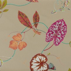 Home Decor Fabric - P.Kaufmann - Creeping Vine - Red