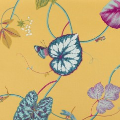 Home Decor Fabric - P.Kaufmann - Creeping Vine - Yellow