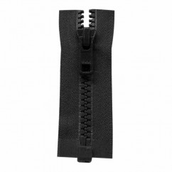 "COSTUMAKERS Activewear One Way Separating Zipper 110cm (43"") - Black - 1764"
