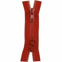 "COSTUMAKERS Activewear Two Way Separating Zipper 55cm (22"") - Hot Red - 1765"