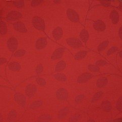 Tablecloth Fabric - Wide-width - Leaf - Red