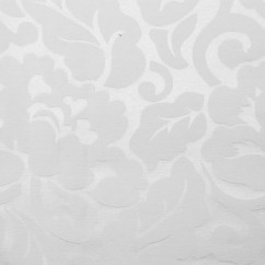 Tablecloth Fabric - Wide-width - Floral White