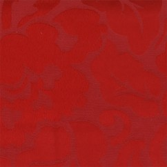 Tablecloth Fabric - Wide-width - Floral - Red
