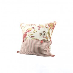 Decorative cushion cover - Luana stripe - Red - 20 x 20''