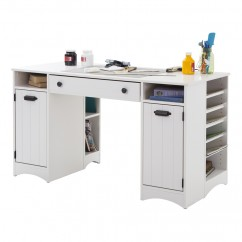Artwork Craft Table - White