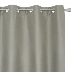 Blackout grommet panel - Britney - Light taupe - 54 x 85''