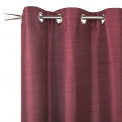 Blackout grommet panel - Britney - Marsala - 54 x 85''