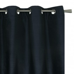 Blackout grommet panel - Britney - Navy - 54 x 85''