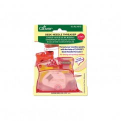 CLOVER - Desk Needle Threader - Pink