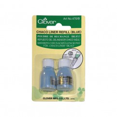 CLOVER - Chaco Liner Refill - Blue - 2 pcs