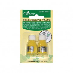 CLOVER - Chaco Liner Refill - Yellow - 2 pcs