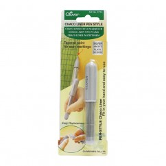 CLOVER - Pen Style Chaco Liner - Silver
