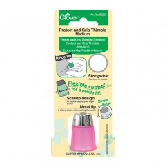 CLOVER - Protect & Grip Thimble - Medium