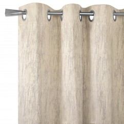 Blackout grommet curtain panel - Celeste - Taupe - 52 x 84''