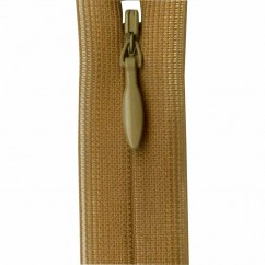 """COSTUMAKERS Invisible Closed End Zipper 20cm (8"""") - Golden Brown - 1780"""