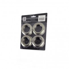 70mm - Plastic Grommets - Grey