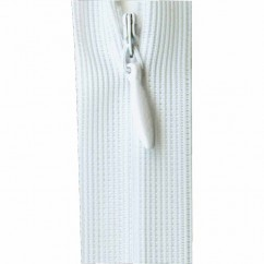 "COSTUMAKERS Invisible Closed End Zipper 55cm (22"") - White - 1780"