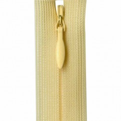 """COSTUMAKERS Invisible Closed End Zipper 55cm (22"""") - Butter - 1780"""