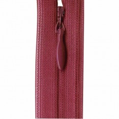 "COSTUMAKERS Invisible Closed End Zipper 55cm (22"") - Plum - 1780"