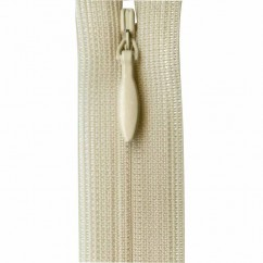 """COSTUMAKERS Invisible Closed End Zipper 55cm (22"""") - Natural - 1780"""
