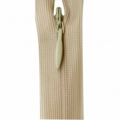 """COSTUMAKERS Invisible Closed End Zipper 55cm (22"""") - Light Beige - 1780"""