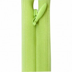 """COSTUMAKERS Invisible Closed End Zipper 55cm (22"""") - Lime - 1780"""