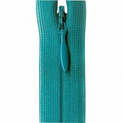 """COSTUMAKERS Invisible Closed End Zipper 55cm (22"""") - Bright Teal - 1780"""