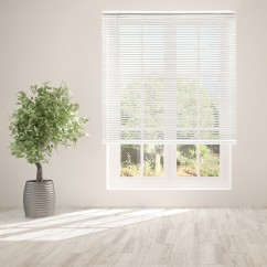 Mirage Cordless PVC Mini Blind - White - 27 x 64 inch