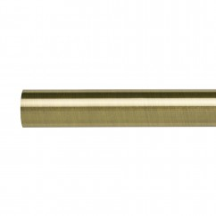 20 mm metal square rod - Antique Brass