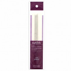 "KNIT PICKS Nickel Plated Double Point Knitting Needles 15cm (6"") - Set of 5 - 2mm/US 0"