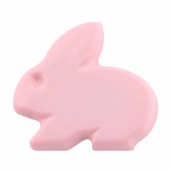 "CIRQUE Novelty Shank Button - Pink - 15mm (⅝"") - Bunny"