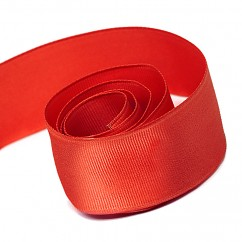 Wired Edge Grosgrain - 1.5 inch - Red 50 yd