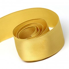 Wired Edge Grosgrain - 1.5 inch - Old Gold 10 yd