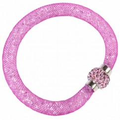 DRESS IT UP - DARK PINK - Mesh Bracelets