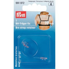 Bra Strap Retainer - Transparent 10mm