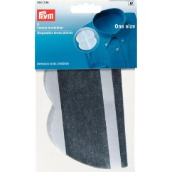 Dress Shields Disposable, Self Adhesive - Grey