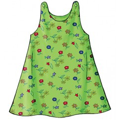 B3772 Toddlers' & Children's Dress (size: 1-2-3)