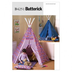 B4251 Teepee and Mat (size: One Size Only)
