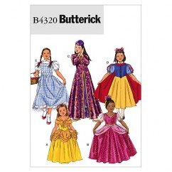 B4320 Children's/Girls' Costume (Size: (7) (8-10) (12-14))