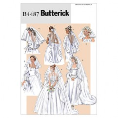 B4487 Bridal Veils (size: One Size Only)