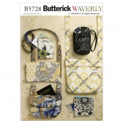 B5728 Bags and Purses (size: All Sizes In One Envelope)