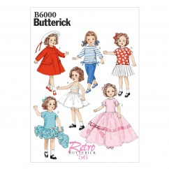 "B6000 Clothes For 18"" (46cm) Doll (size: One Size Only)"