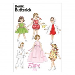 "B6001 Clothes For 18"" (46cm) Doll (size: One Size Only)"