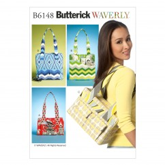B6148 Tote Bags (size: All Sizes In One Envelope)